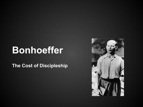 bonhoeffer listening